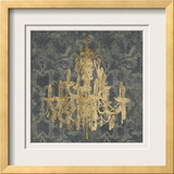 Gilt Chandelier III Prints by Jennifer Goldberger