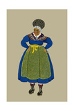 Old Woman from Briancon Near the Alps Prints by Elizabeth Whitney Moffat