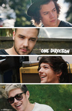 One Direction- Group Collage Posters