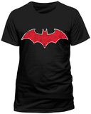 Batman- Red Bat Logo (Slim Fit) T-shirts