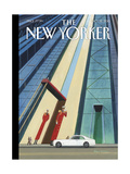 The New Yorker Cover - October 12, 2015 Regular Giclee Print by Bruce McCall