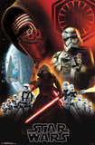 Star Wars the Force Awakens- Dark Side Posters