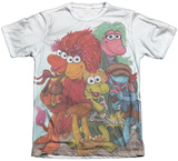Fraggle Rock- Group Shot Sublimated
