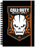Call Of Duty Black Ops 3 Logo A5 Notebook Lommebog