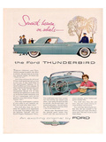 1955 Thunderbird 7th Heaven Posters