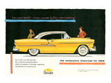 1955 GM Motoramic Chevrolet Poster