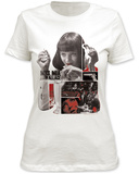 Juniors: Pulp Fiction- Mia T-shirts