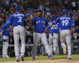 Toronto Blue Jays v Texas Rangers Photo by Tom Pennington