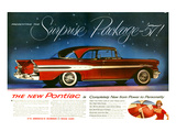 1957 Pontiac Surprise Package Poster