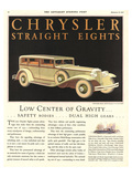 1931 Chrysler -Straight Eights Art