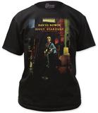 David Bowie- Ziggy Plays Guiter Tshirts