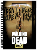 The Walking Dead Dead Inside A5 Notebook Lommebog