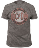 AC/DC- World Tour 1980 T-shirts