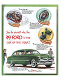 1949 Ford - … Car of the Year Poster