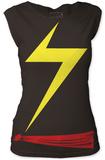 Juniors: Ms. Marvel- Costume Tee Shirt