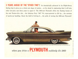 1960 Chrysler Plymouth Poster