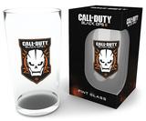 Call Of Duty Logo Pint Glass Novelty
