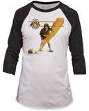 AC/DC- Voltage (Raglan) T-Shirts
