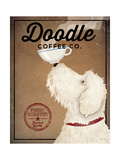 Doodle Coffee Premium Giclee Print by Ryan Fowler