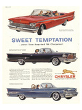 1956 Chrysler-Sweet Temptaion Posters