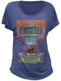 Juniors: Woodstock- Max Yasgur's Farm (Dolman) T-shirty