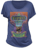 Juniors: Woodstock- Max Yasgur's Farm (Dolman) T-shirts