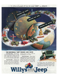 1949 Willys-The Universal Jeep Posters