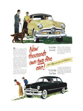 1950 Ford '50 Convertible Posters