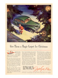 1941 Lincoln Zephyr V12 Print