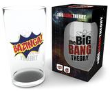 Big Bang Theory Bazinga 500 ml Glass Novelty