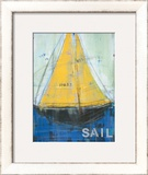 Sail Posters by Melissa Lyons