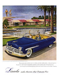 1949 Lincoln Cosmopolitan Affiches