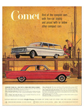 1960Mercury-Comet: 1St Compact Prints