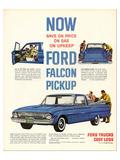 1961 Ford Falcon Pickup Print