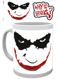 The Dark Knight Why So Serious Mug Mug