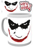 The Dark Knight Why So Serious Mug Taza