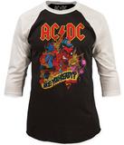 AC/DC- Are You Ready? (Raglan) - T-shirt
