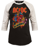 AC/DC- Are You Ready? (Raglan) Remera