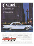 1961 Mercury-Comet Family Size Posters
