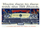1958 GM Buick-Flight On Wheels Prints