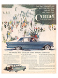 1961 Mercury Comet - Style Posters