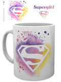 Supergirl Paint Mug Mugg
