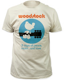 Woodstock- 3 Days of Peace, Music and Love T-shirts
