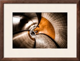 Curvation Framed Photographic Print by Aaron Yeoman