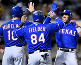 Texas Rangers v Oakland Athletics Photo by Thearon W Henderson