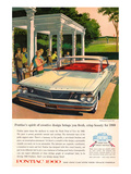 1960GM Pontiac-Creative Design Posters