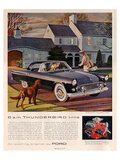 1955 6 A.M. Thunderbird Time Prints