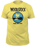 Woodstock- Music, Love, Peace Shirts