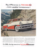 1956 Mercury-Usable Horsepower Posters