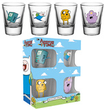 Adventure Time Characters Shot Glass Set Sjove ting